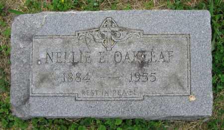 OAKLEAF, NELLIE E. - Clark County, Ohio   NELLIE E. OAKLEAF - Ohio Gravestone Photos