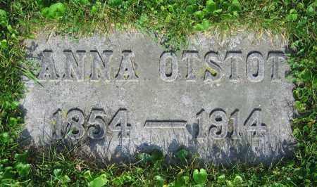 OTSTOT, ANNA - Clark County, Ohio   ANNA OTSTOT - Ohio Gravestone Photos