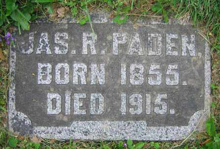 PADEN, JAS. R. - Clark County, Ohio | JAS. R. PADEN - Ohio Gravestone Photos
