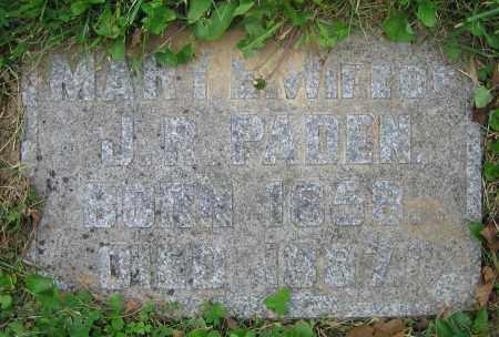 PADEN, MARY E. - Clark County, Ohio | MARY E. PADEN - Ohio Gravestone Photos