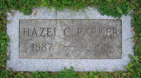 PARKER, HAZEL C. - Clark County, Ohio   HAZEL C. PARKER - Ohio Gravestone Photos