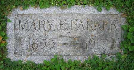 PARKER, MARY E. - Clark County, Ohio   MARY E. PARKER - Ohio Gravestone Photos