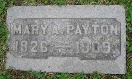PAYTON, MARY A. - Clark County, Ohio   MARY A. PAYTON - Ohio Gravestone Photos