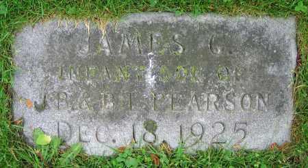 PEARSON, JAMES G. - Clark County, Ohio | JAMES G. PEARSON - Ohio Gravestone Photos