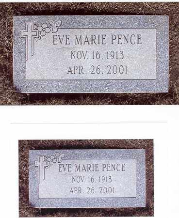 PENCE, EVE MARIE - Clark County, Ohio | EVE MARIE PENCE - Ohio Gravestone Photos