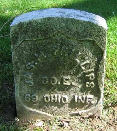 PHILLIPS, JAS. M. - Clark County, Ohio | JAS. M. PHILLIPS - Ohio Gravestone Photos