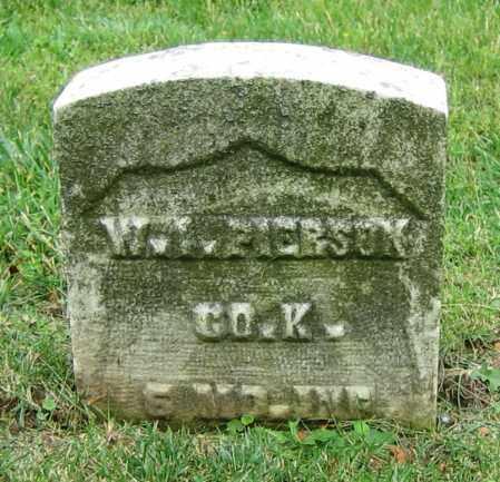 PIERSON, W.I. - Clark County, Ohio | W.I. PIERSON - Ohio Gravestone Photos