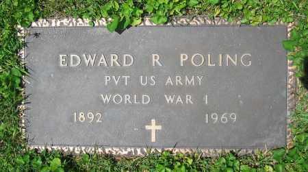 POLING, EDWARD R. - Clark County, Ohio | EDWARD R. POLING - Ohio Gravestone Photos