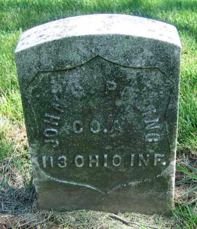 POLING, JOHN G. - Clark County, Ohio   JOHN G. POLING - Ohio Gravestone Photos