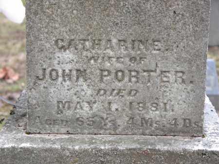 MORROW PORTER, CATHARINE - Clark County, Ohio | CATHARINE MORROW PORTER - Ohio Gravestone Photos