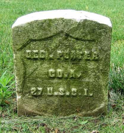 PORTER, GEO. - Clark County, Ohio | GEO. PORTER - Ohio Gravestone Photos