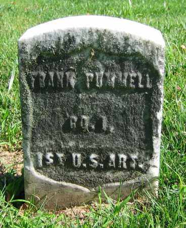 POWELL, FRANK - Clark County, Ohio | FRANK POWELL - Ohio Gravestone Photos