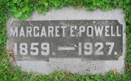 POWELL, MARGARET E. - Clark County, Ohio | MARGARET E. POWELL - Ohio Gravestone Photos