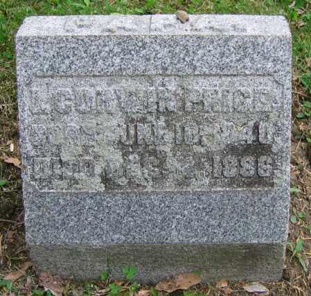 PRICE, L. CORWIN - Clark County, Ohio | L. CORWIN PRICE - Ohio Gravestone Photos