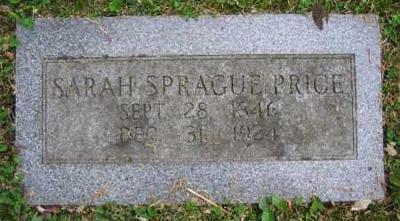 SPRAGUE PRICE, SARAH - Clark County, Ohio | SARAH SPRAGUE PRICE - Ohio Gravestone Photos