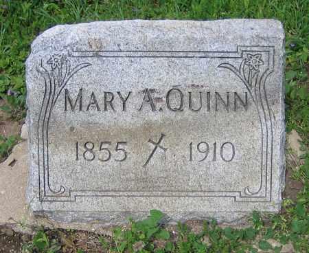 QUINN, MARY A. - Clark County, Ohio | MARY A. QUINN - Ohio Gravestone Photos