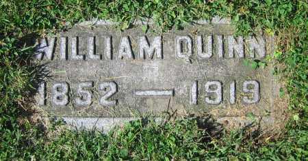 QUINN, WILLIAM - Clark County, Ohio   WILLIAM QUINN - Ohio Gravestone Photos