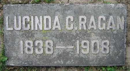 RAGAN, LUCINDA C. - Clark County, Ohio | LUCINDA C. RAGAN - Ohio Gravestone Photos