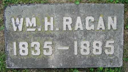 RAGAN, WM. H. - Clark County, Ohio | WM. H. RAGAN - Ohio Gravestone Photos