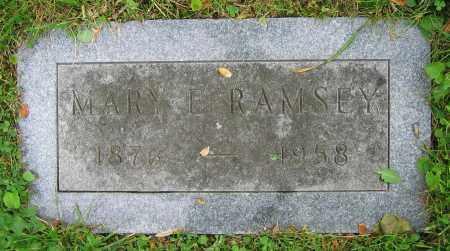 RAMSEY, MARY E. - Clark County, Ohio   MARY E. RAMSEY - Ohio Gravestone Photos