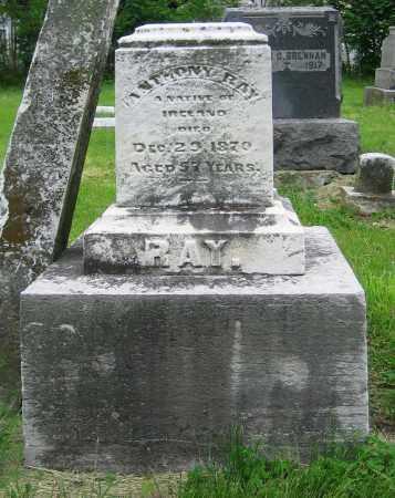 RAY, ANTHONY - Clark County, Ohio | ANTHONY RAY - Ohio Gravestone Photos