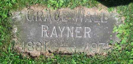 RAYNER, GRACE - Clark County, Ohio | GRACE RAYNER - Ohio Gravestone Photos