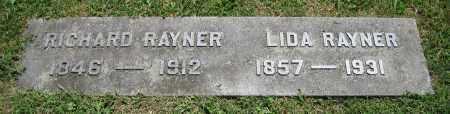 RAYNER, LIDA - Clark County, Ohio | LIDA RAYNER - Ohio Gravestone Photos
