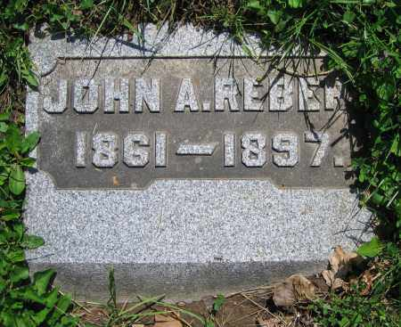 REBERT, JOHN A. - Clark County, Ohio | JOHN A. REBERT - Ohio Gravestone Photos