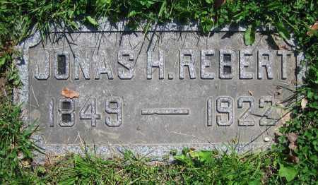 REBERT, JONAS H. - Clark County, Ohio | JONAS H. REBERT - Ohio Gravestone Photos