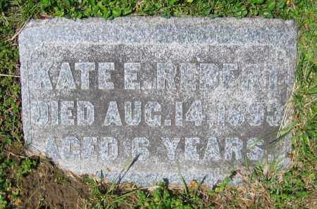REBERT, KATE E. - Clark County, Ohio   KATE E. REBERT - Ohio Gravestone Photos