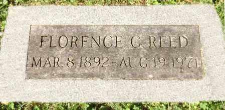 G. REED, FLORENCE - Clark County, Ohio   FLORENCE G. REED - Ohio Gravestone Photos