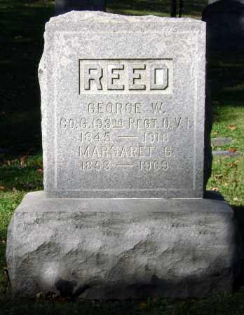 REED, GEORGE WASHINGTON - Clark County, Ohio | GEORGE WASHINGTON REED - Ohio Gravestone Photos