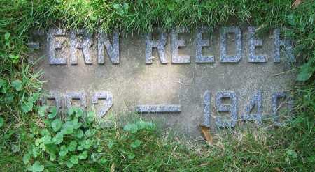 REEDER, FERN - Clark County, Ohio | FERN REEDER - Ohio Gravestone Photos