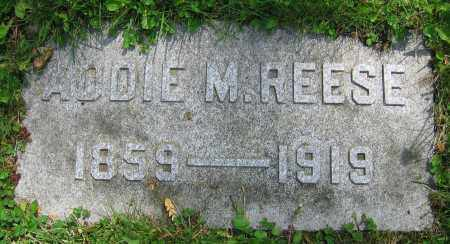 REESE, ADDIE M. - Clark County, Ohio | ADDIE M. REESE - Ohio Gravestone Photos