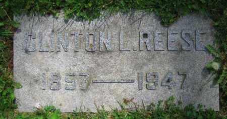 REESE, CLINTON L. - Clark County, Ohio | CLINTON L. REESE - Ohio Gravestone Photos