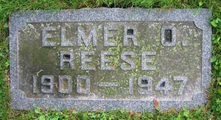 REESE, ELMER O. - Clark County, Ohio | ELMER O. REESE - Ohio Gravestone Photos