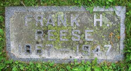 REESE, FRANK H. - Clark County, Ohio | FRANK H. REESE - Ohio Gravestone Photos