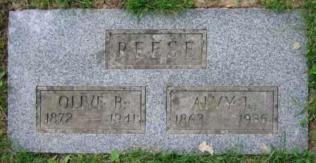 REESE, ALVY L. - Clark County, Ohio | ALVY L. REESE - Ohio Gravestone Photos