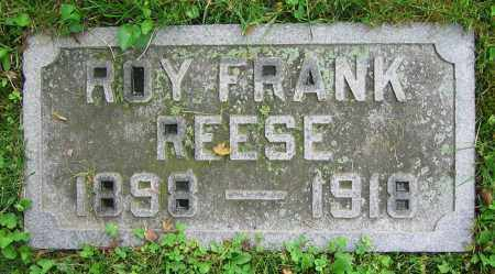REESE, ROY FRANK - Clark County, Ohio   ROY FRANK REESE - Ohio Gravestone Photos