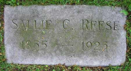 REESE, SALLIE C. - Clark County, Ohio   SALLIE C. REESE - Ohio Gravestone Photos