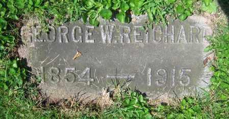 REICHARD, GEORGE W. - Clark County, Ohio | GEORGE W. REICHARD - Ohio Gravestone Photos