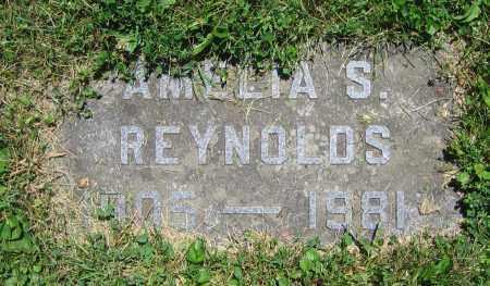 REYNOLDS, AMELIA S. - Clark County, Ohio | AMELIA S. REYNOLDS - Ohio Gravestone Photos