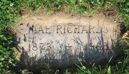 RICHARDS, MAE - Clark County, Ohio | MAE RICHARDS - Ohio Gravestone Photos