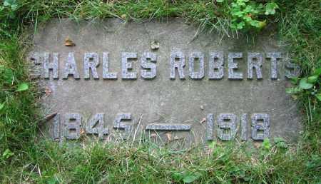 ROBERTS, CHARLES - Clark County, Ohio   CHARLES ROBERTS - Ohio Gravestone Photos