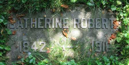 ROBERTS, CATHERINE - Clark County, Ohio   CATHERINE ROBERTS - Ohio Gravestone Photos