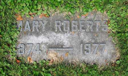 ROBERTS, MARY - Clark County, Ohio | MARY ROBERTS - Ohio Gravestone Photos