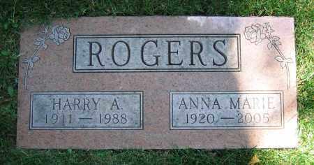 ROGERS, ANNA MARIE - Clark County, Ohio | ANNA MARIE ROGERS - Ohio Gravestone Photos