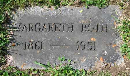 ROTH, MARGARETH - Clark County, Ohio | MARGARETH ROTH - Ohio Gravestone Photos