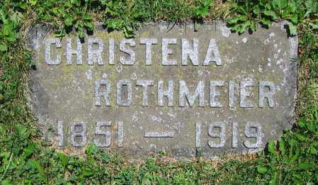 ROTHMEIER, CHRISTENA - Clark County, Ohio | CHRISTENA ROTHMEIER - Ohio Gravestone Photos