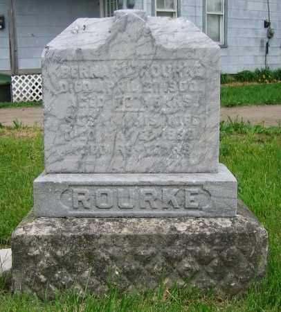 ROURKE, BERNARD - Clark County, Ohio | BERNARD ROURKE - Ohio Gravestone Photos